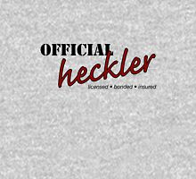 Official Heckler (light T) T-Shirt