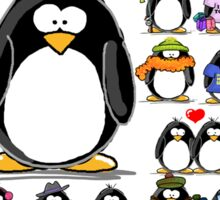 How Many Penguins is Too Many Penguins? Sticker
