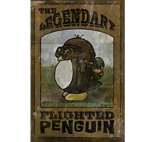 The Legendary Flighted Penguin Photographic Print