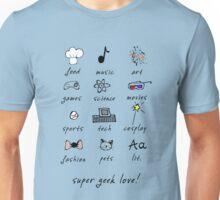 geek love! Unisex T-Shirt