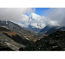 Ama Dablam at the End Photographic Print