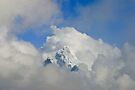 Ama Dablam Solid Cloud by Richard Heath