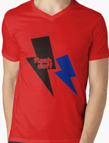 flash doff Mens V-Neck T-Shirt
