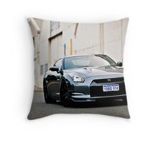 Nissan R35 GTR Throw Pillow