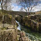 Birks Bridge in the Duddon Valley by Jamie  Green