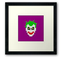 Retro Joker Framed Print
