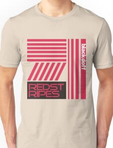 red stripped Unisex T-Shirt