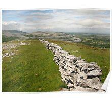 Burren Wall Poster