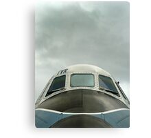 Old military plane Canvas Print