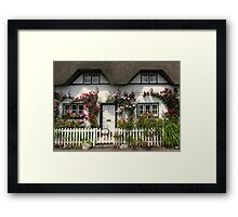 Shepherds' Cottage, Wherwell, Hampshire, southern England Framed Print