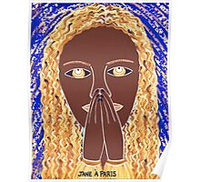 ANOTHER PRAYING LADY Poster