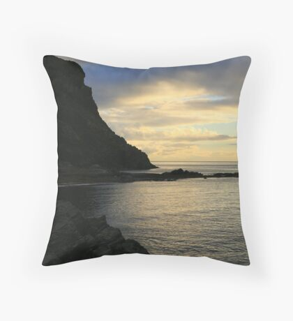 """Second Valley, South Australia"" Throw Pillow"