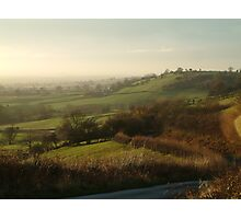 Across The Vale Photographic Print