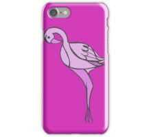 Tropical Flamingo iPhone Case/Skin
