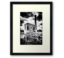 The Pump House Framed Print
