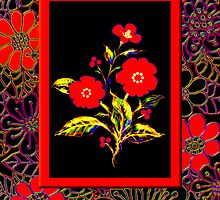 'Flamenco Rose' dance dance dance by luvapples downunder/ Norval Arbogast