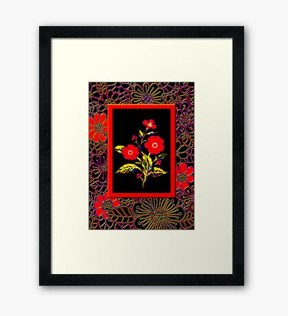 'Flamenco Rose' dance dance dance Framed Print