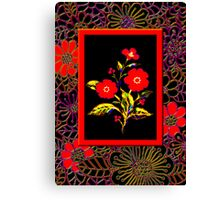 'Flamenco Rose' dance dance dance Canvas Print