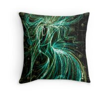 Dansing Witch Throw Pillow