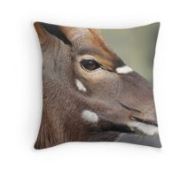 The Stag II Throw Pillow