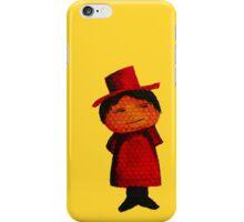 Watercolour Top Hat Man iPhone Case/Skin