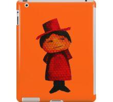Watercolour Top Hat Man iPad Case/Skin