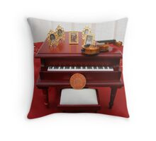 Music of Grandchildren Throw Pillow