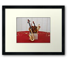 The Music Box Framed Print