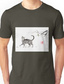 Play it cool sumi-e painting Unisex T-Shirt