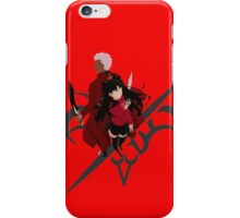 Fate unlimited Blades works Archer and rin iPhone Case/Skin