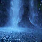 Stirling falls, Milford Sound by Eric Belcher