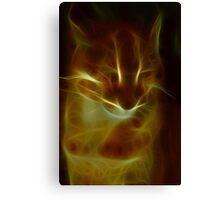 Precious lynx Canvas Print