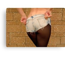 How To Wear Shorts Canvas Print