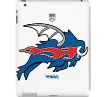 Wild Buffalo Bill Wings iPad Case/Skin