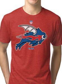 Wild Buffalo Bill Wings Tri-blend T-Shirt