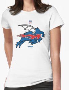 Wild Buffalo Bill Wings Womens Fitted T-Shirt