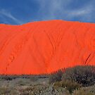 The Colours of Uluru, Northern Territory, Australia by Adrian Paul