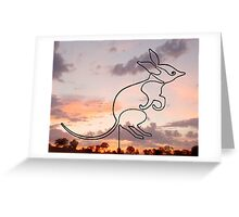 Bilby Greeting Card