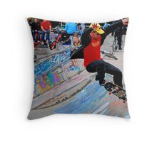 who's too old? Throw Pillow