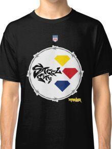Pitt Steel City Football by Marauder Wear Classic T-Shirt