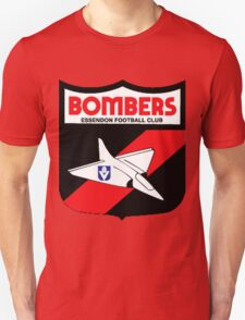 Retro Essendon Bombers T-Shirt