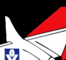 Retro Essendon Bombers Sticker