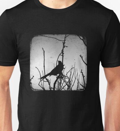 Wattlebird - Black Unisex T-Shirt