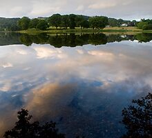 Esthwaite Reflection by Simon Hathaway