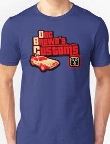 Doc Brown's Custom Unisex T-Shirt