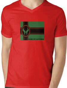 Made in Latveria Mens V-Neck T-Shirt