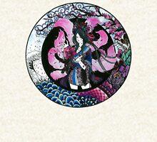Sakurahri ~ The Cherry Blossom Fox Zipped Hoodie