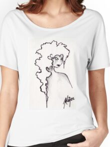 Albion- ACEO in Monochrome Women's Relaxed Fit T-Shirt