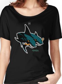 The 2 Headed Sharks From San Jose Women's Relaxed Fit T-Shirt