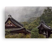 Shrines In the Mist Canvas Print